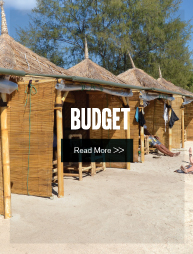 Budget Accommodation Gili Meno