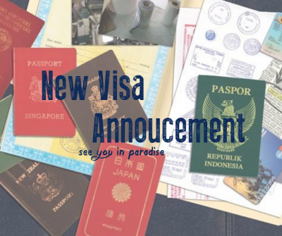 Visa Announcement Indonesia