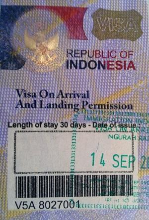 visa-on-arrival-indonesia