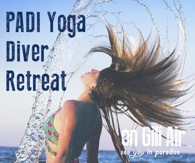 PADI Diver Yoga Retreat Gili Islands
