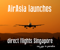 AirAsia launches direct flights to Lombok from Singapore