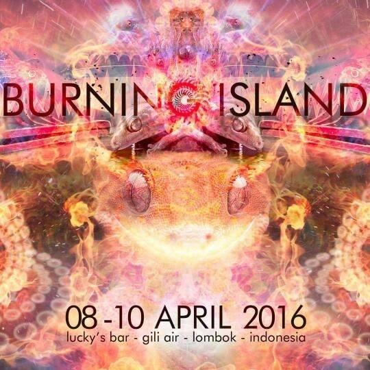 Burning Island Festival Gili Air 2016