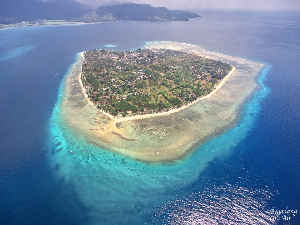 gili air birds eye