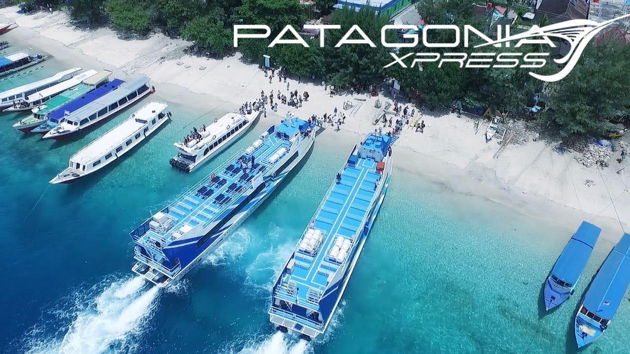 Patagonia Xpress Fast Boat at Gili Trawangan