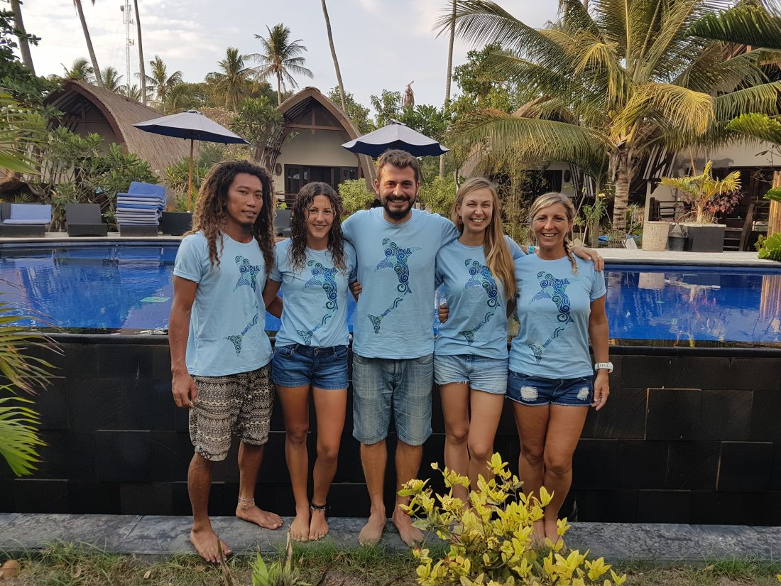 Research Team Gili Shark Conservation Project