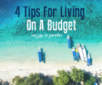 Cover blog 4 tips For Living On A Budget On The Gili Islands