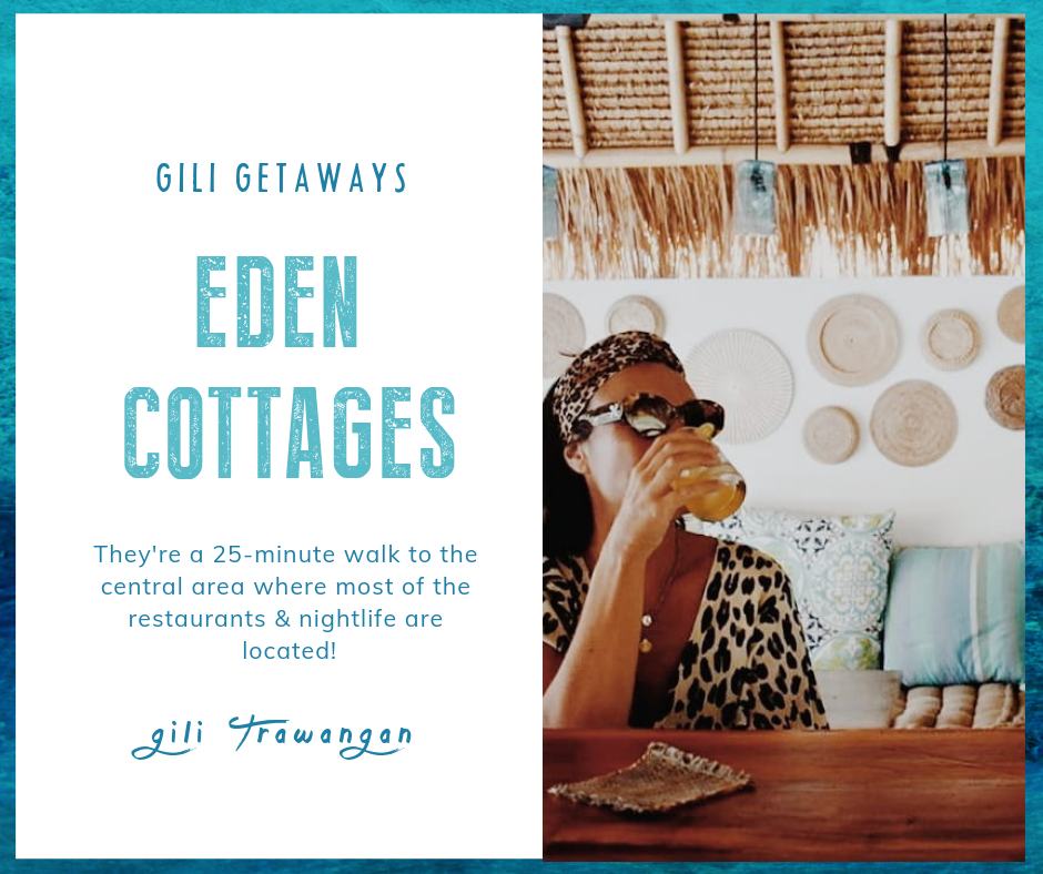 Favorite Places On Gili Trawangan - Eden Cottages