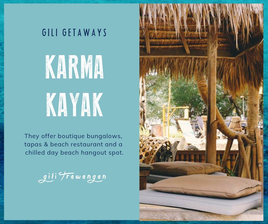 Our Favorite Places On Gili Trawangan - Karma Kayak