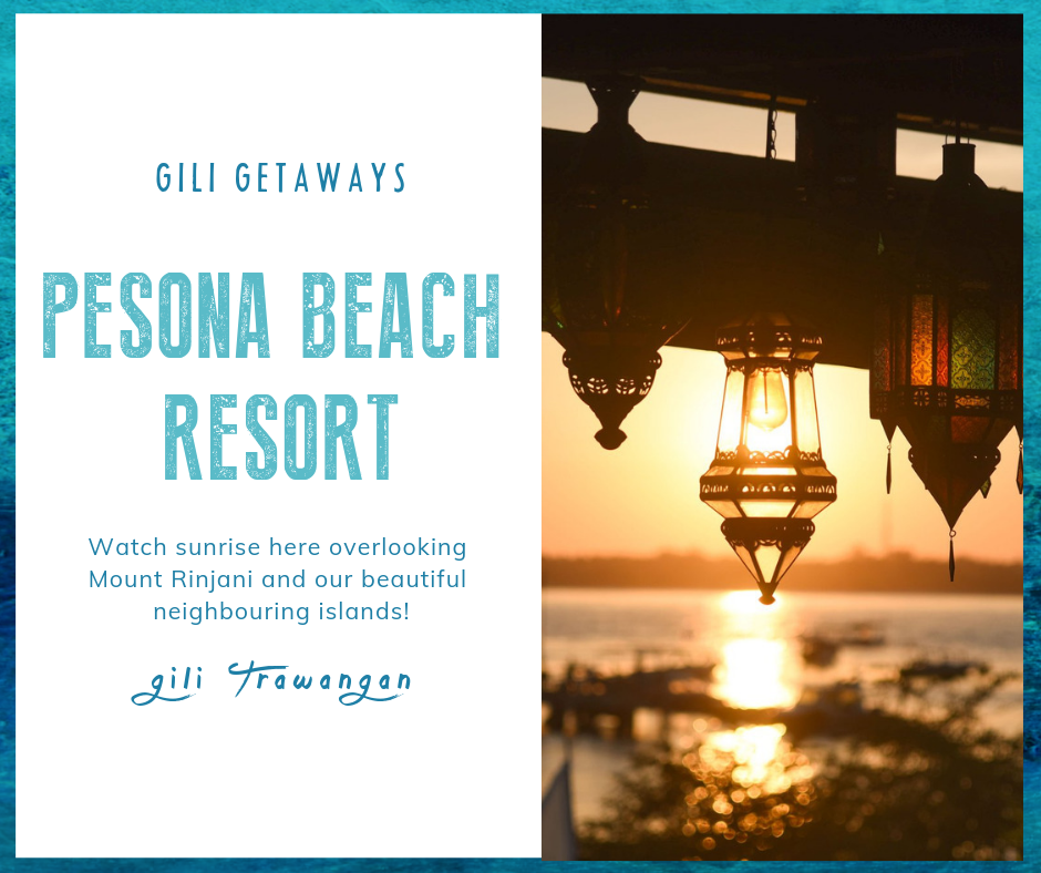 Favorite Place on Gili Trawangan - Pesona Beach Resort