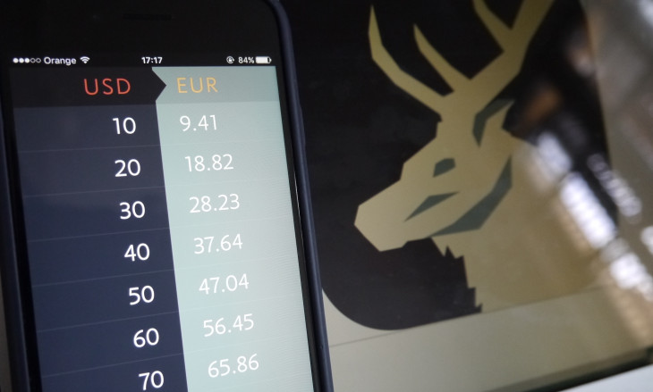 Elk is a currency exchange app for smart travel apps.