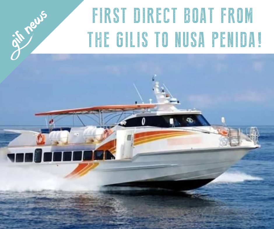 Gili News: Nusa Penida Direct Boat - Gili News