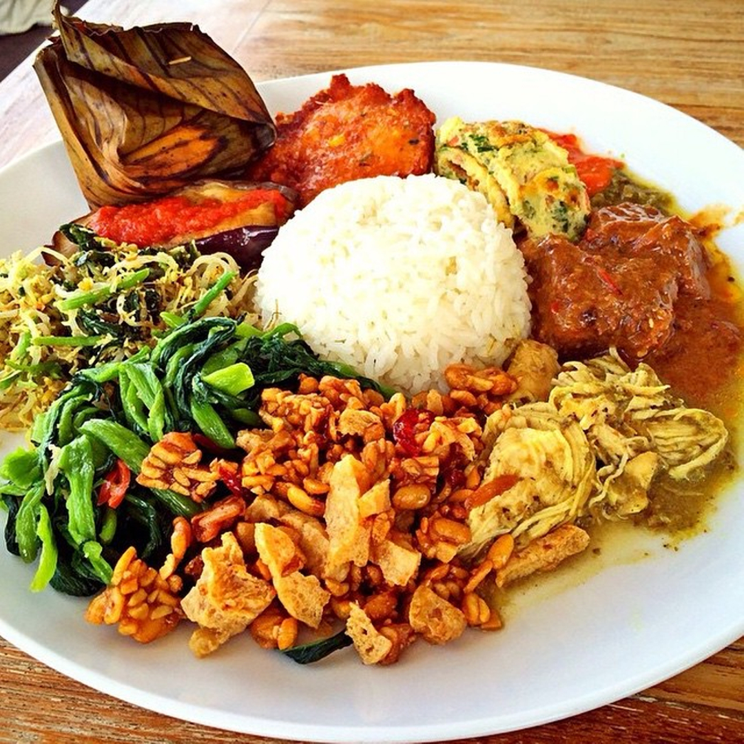 Best Nasi Campur On The Gili Islands in Indonesia