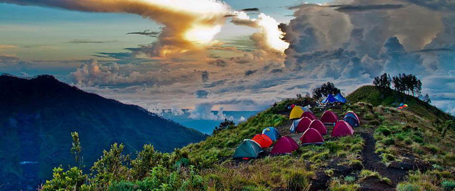 Climbing Mount Rinjani In Lombok Indonesia